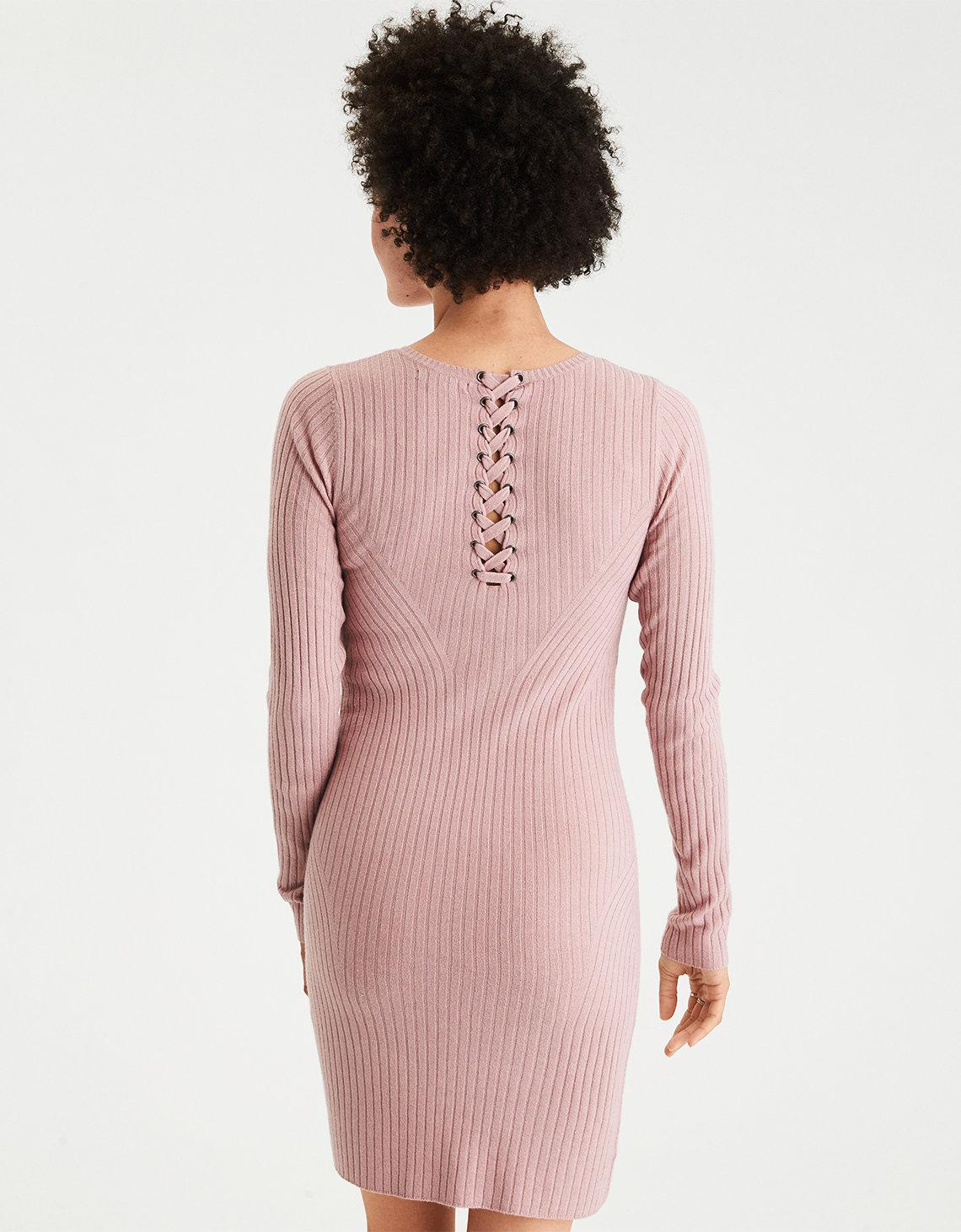 3371ebea9d0 American Eagle Ae Ahh-mazingly Soft Ribbed Bodycon Sweater Dress in ...