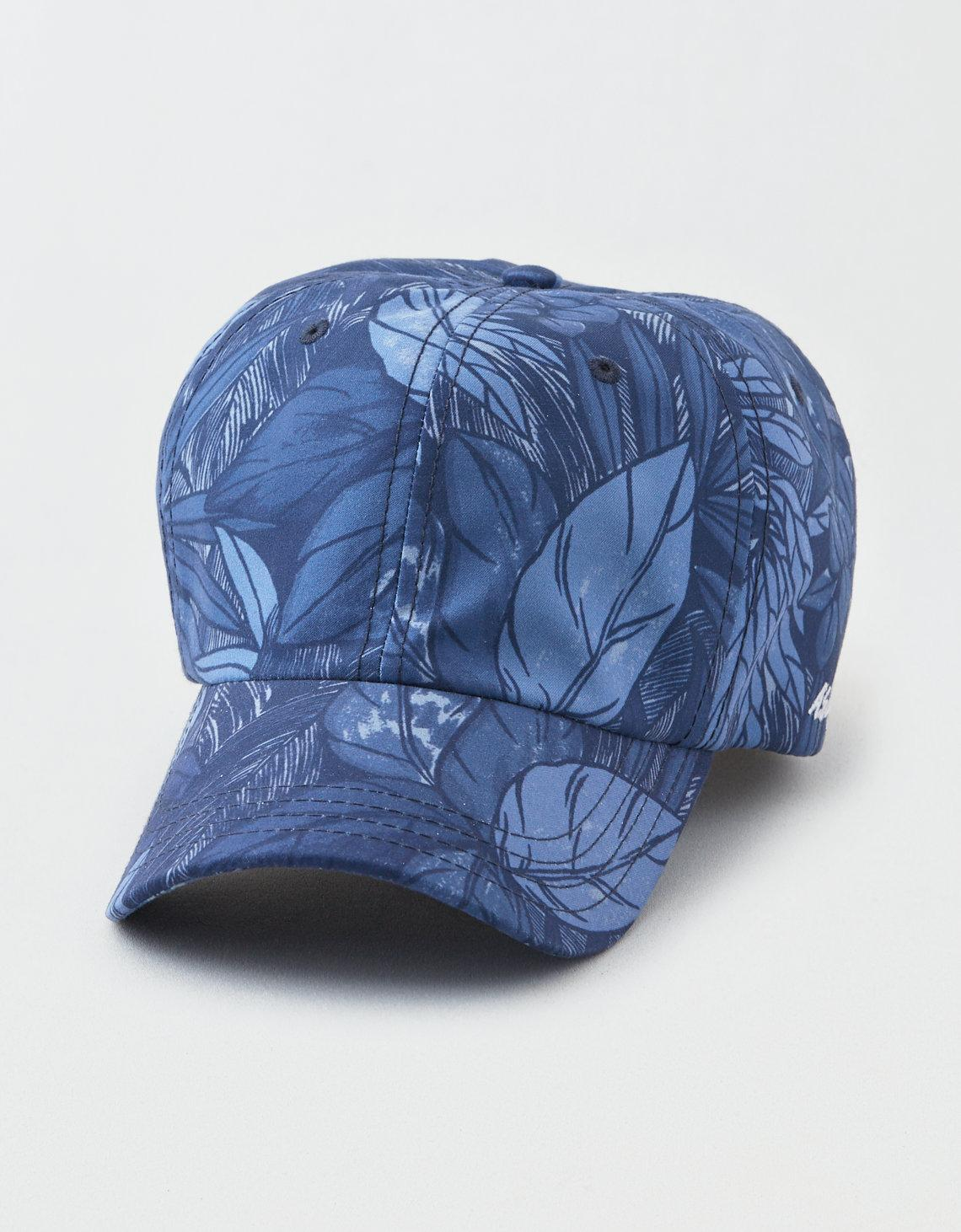 fee658c697ccc Lyst - American Eagle Ae Floral Baseball Hat in Blue for Men