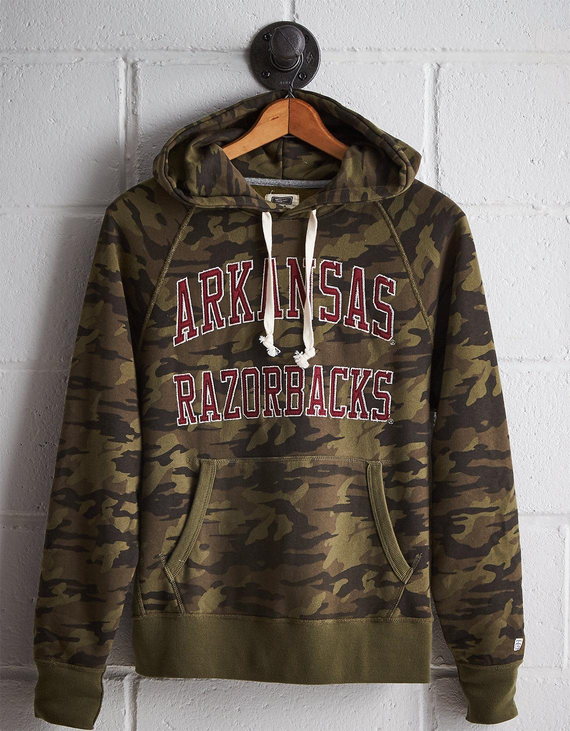 1c5fc6284a Lyst - Tailgate Men s Arkansas Camo Hoodie in Green for Men