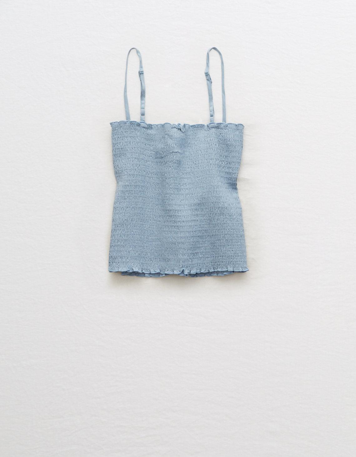 98c78258eb Lyst - American Eagle Tube Top in Blue