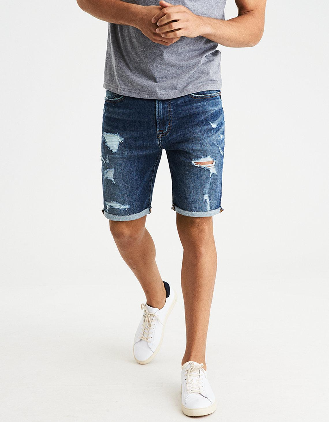 Eagle american jean shorts photo forecast to wear in summer in 2019