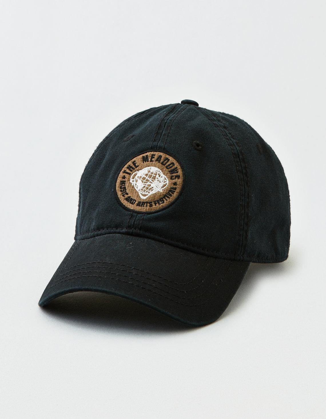 58a7e164b54a9 Lyst - American Eagle X Meadows Festival Embroidered Dad Hat in ...