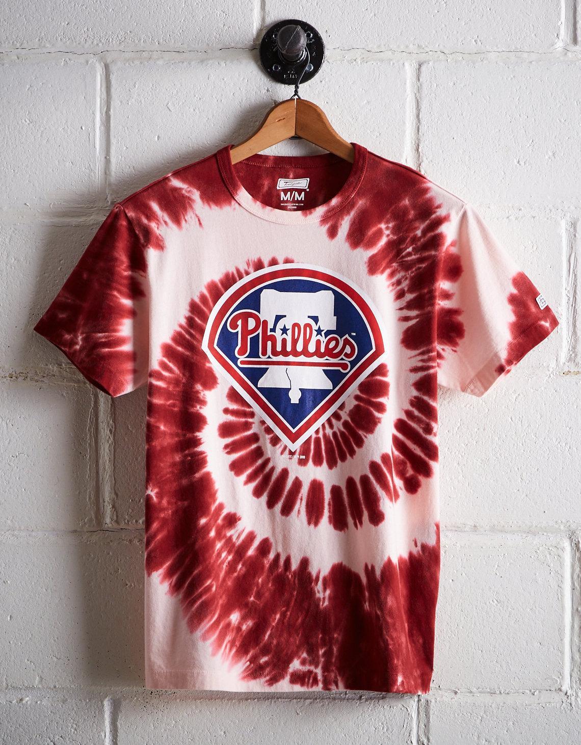 611a2564 Lyst - Tailgate Men's Philadelphia Phillies Tie-dye T-shirt in Red ...