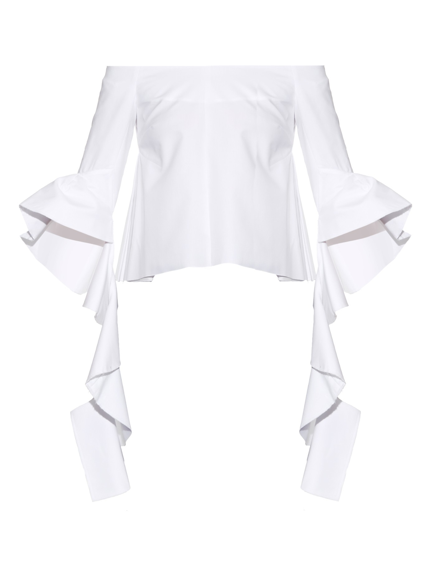 07f0c98c11927 Lyst - Ellery Delores Off-the-shoulder Top in White