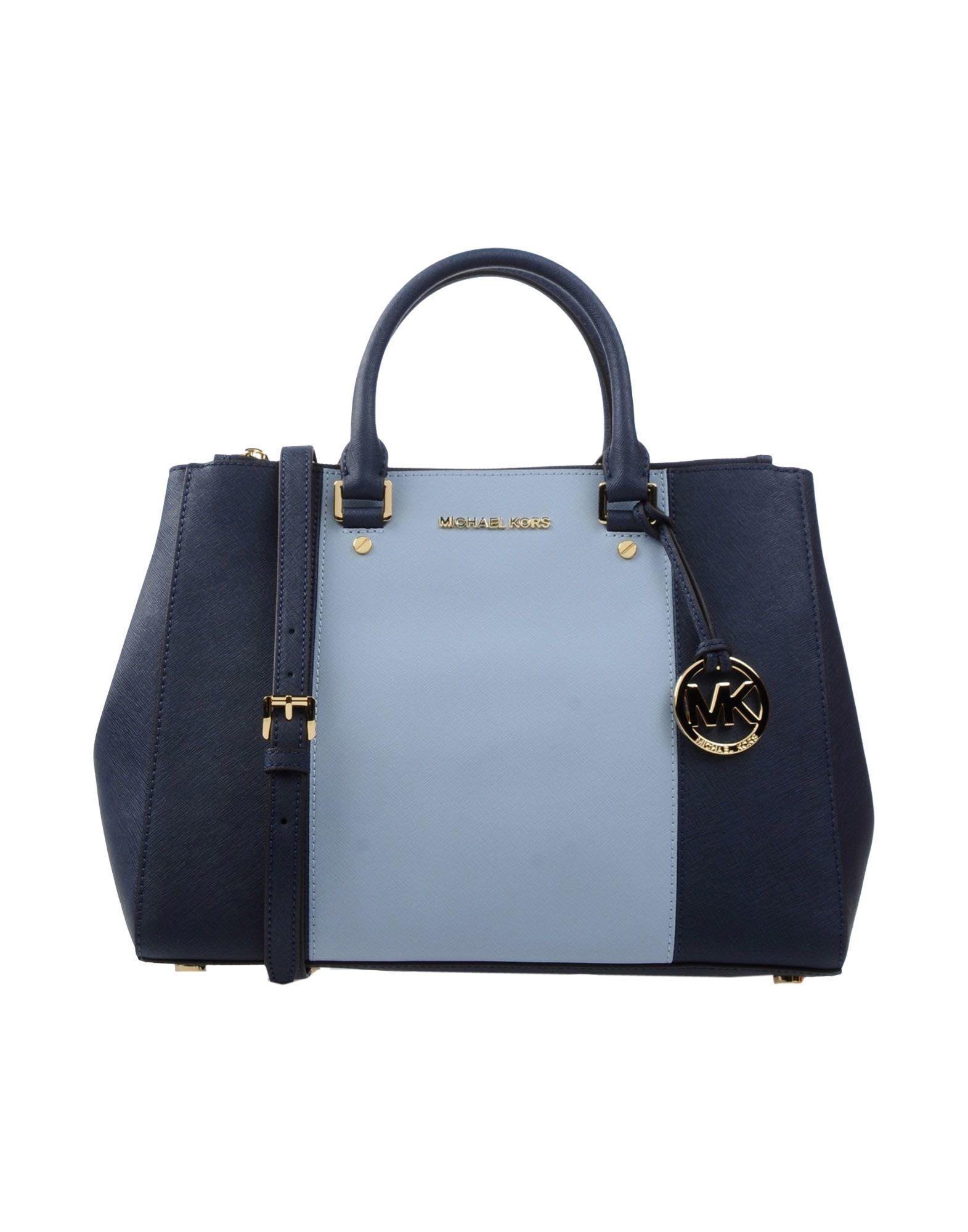 447c7ca43904 MICHAEL Michael Kors Handbag in Blue - Lyst