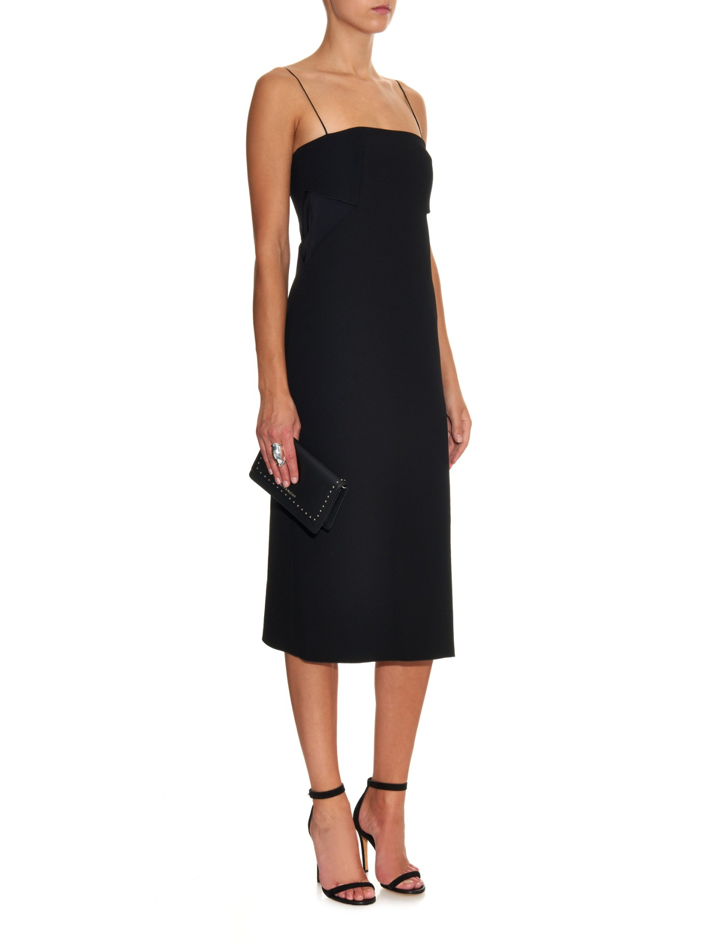 Cutout Crepe Gown - Black Dion Lee xHXKId