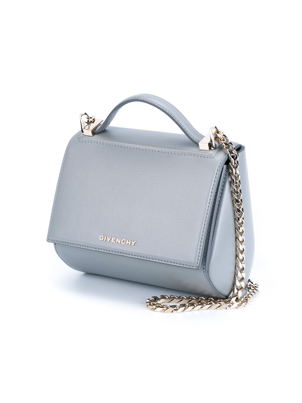 Givenchy Leather Pandora Box Handbag in Gray - Lyst a4711fd60c