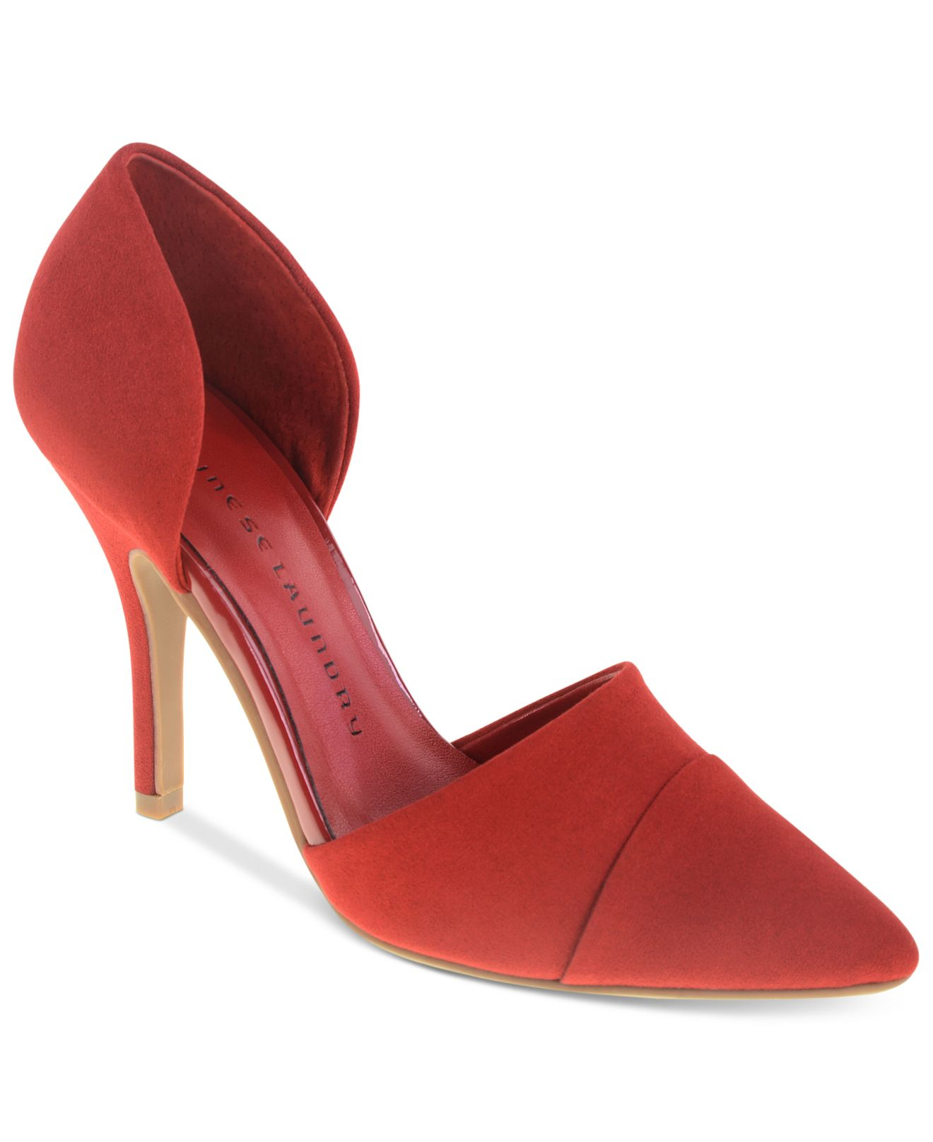 39d5804639 Chinese Laundry Sidekick D'Orsay Pumps in Red - Lyst