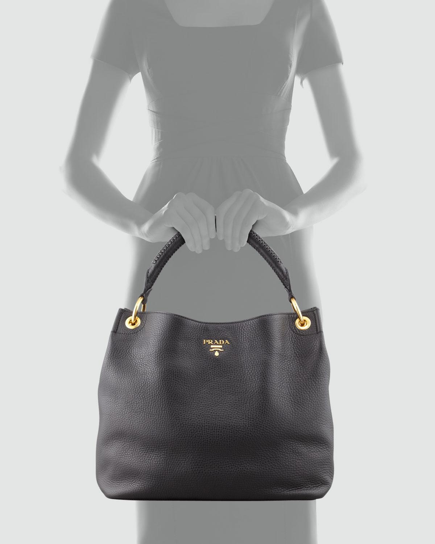 Prada Daino Chain Hobo Bag With Grommets How To Spot A