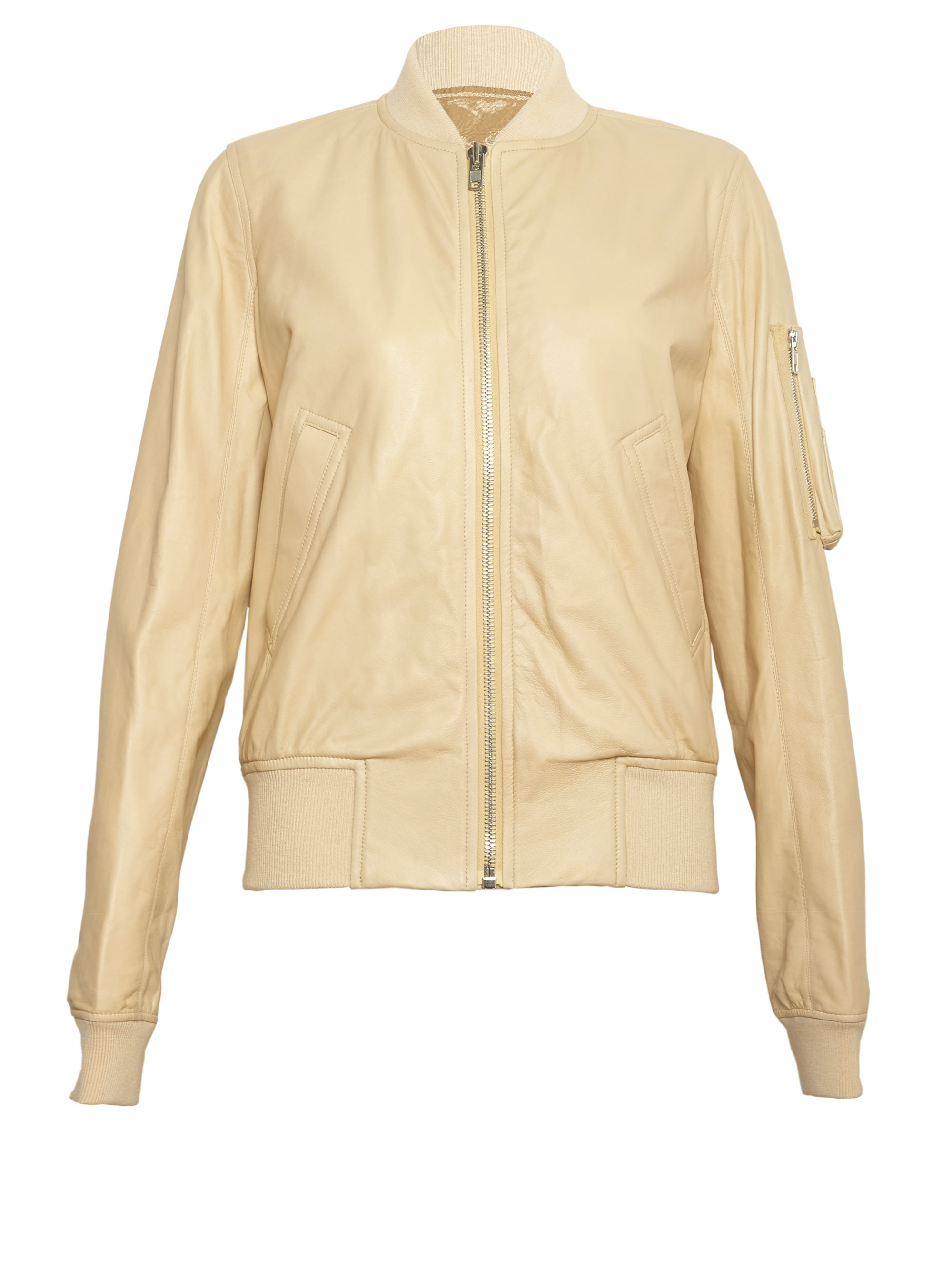 H M Leather Jacket Womens