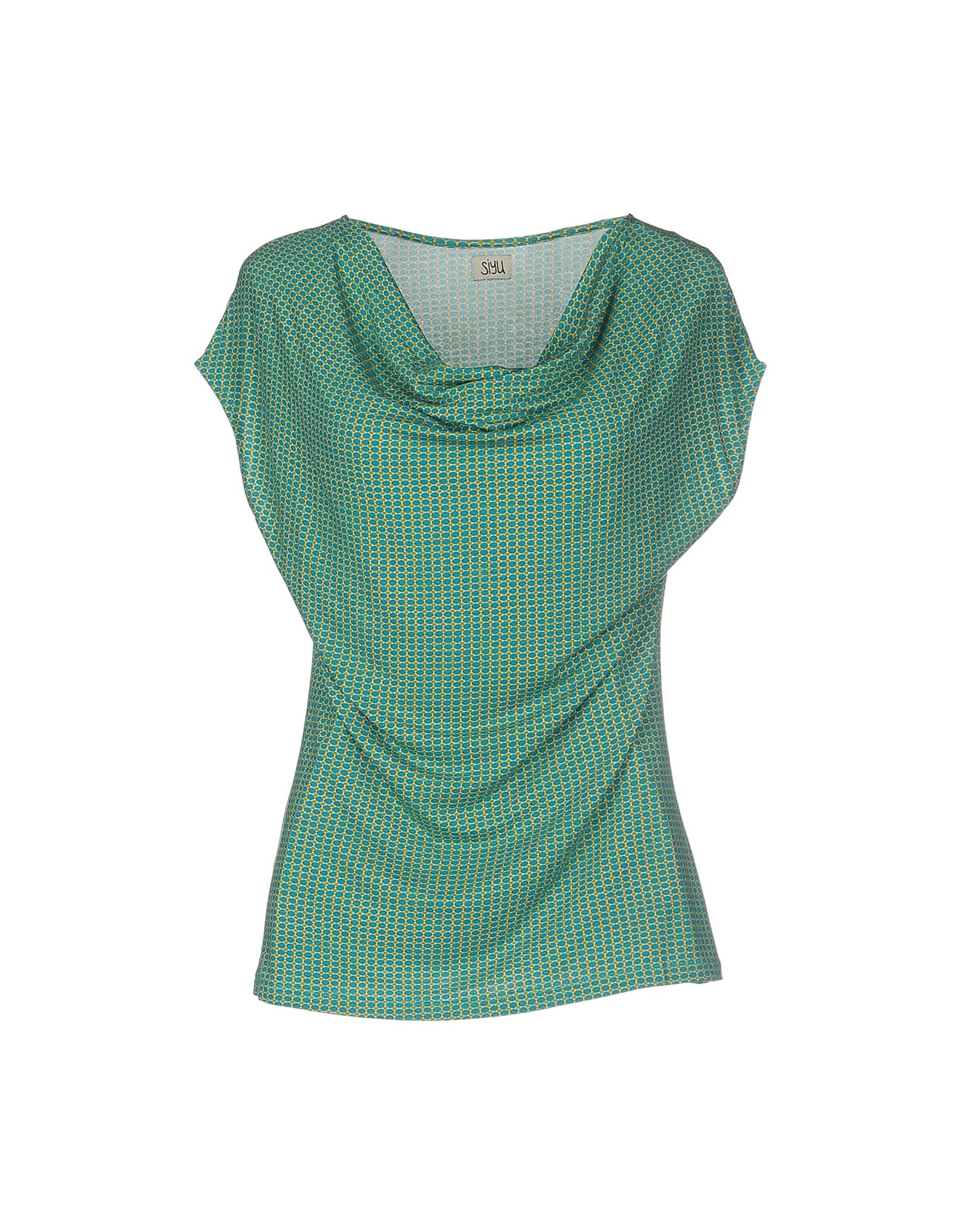 Siyu t shirt in green lyst Emerald green mens dress shirt