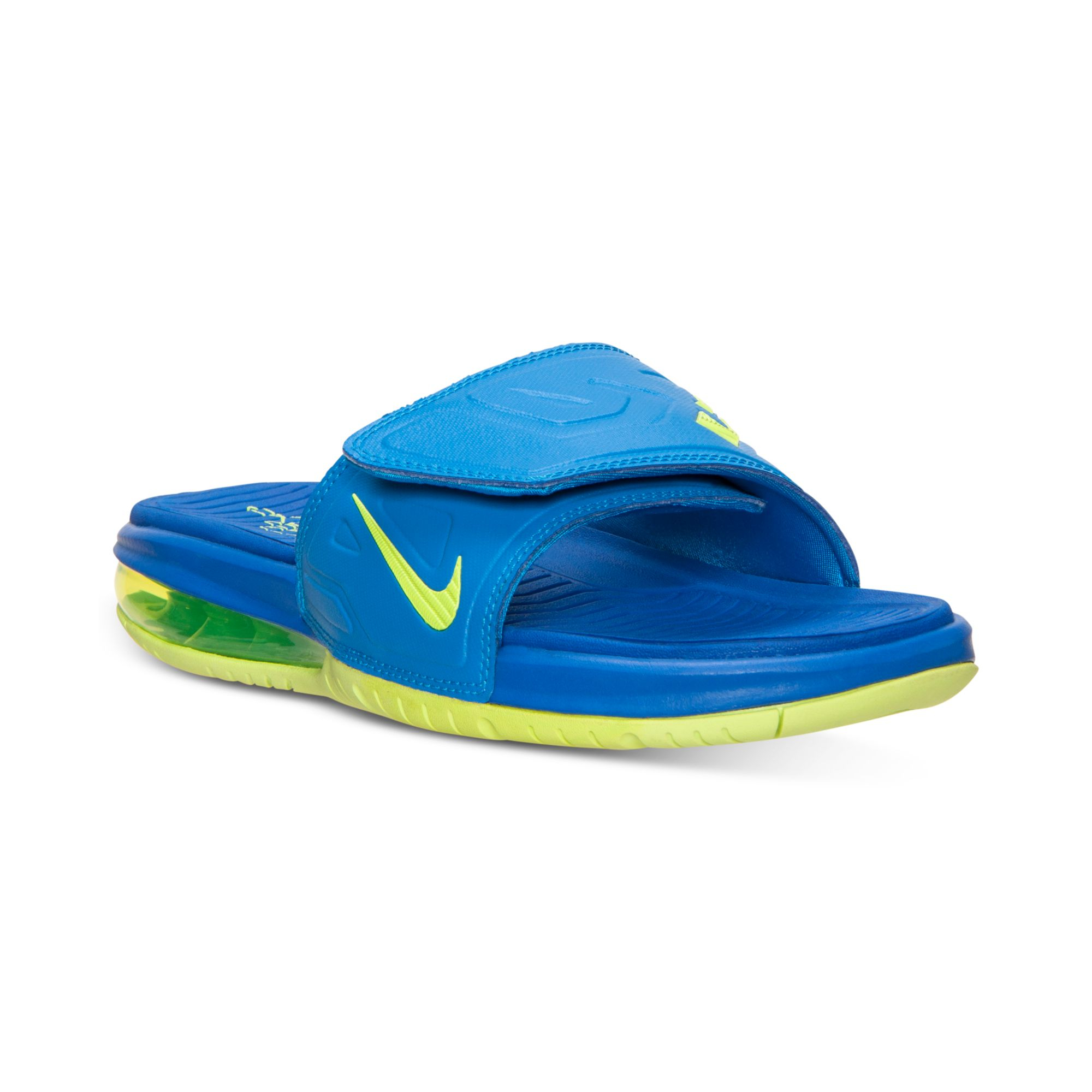 77ce7c0a993 Lyst - Nike Mens Air Lebron 3 Elite Slide Sandals From Finish Line ...