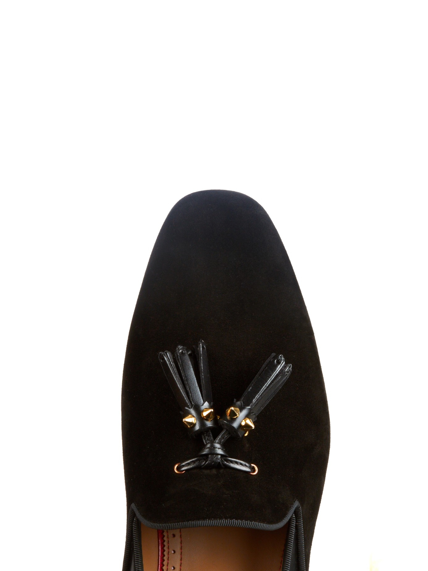 c474c0d45a2 Lyst - Christian Louboutin Tassilo Studded Loafers in Black for Men