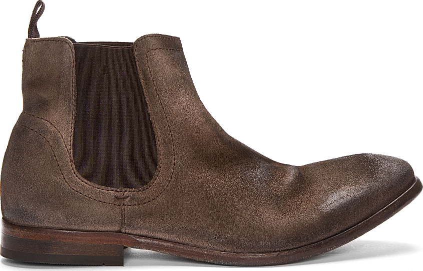 h by hudson patterson chelsea boot in brown for men lyst. Black Bedroom Furniture Sets. Home Design Ideas