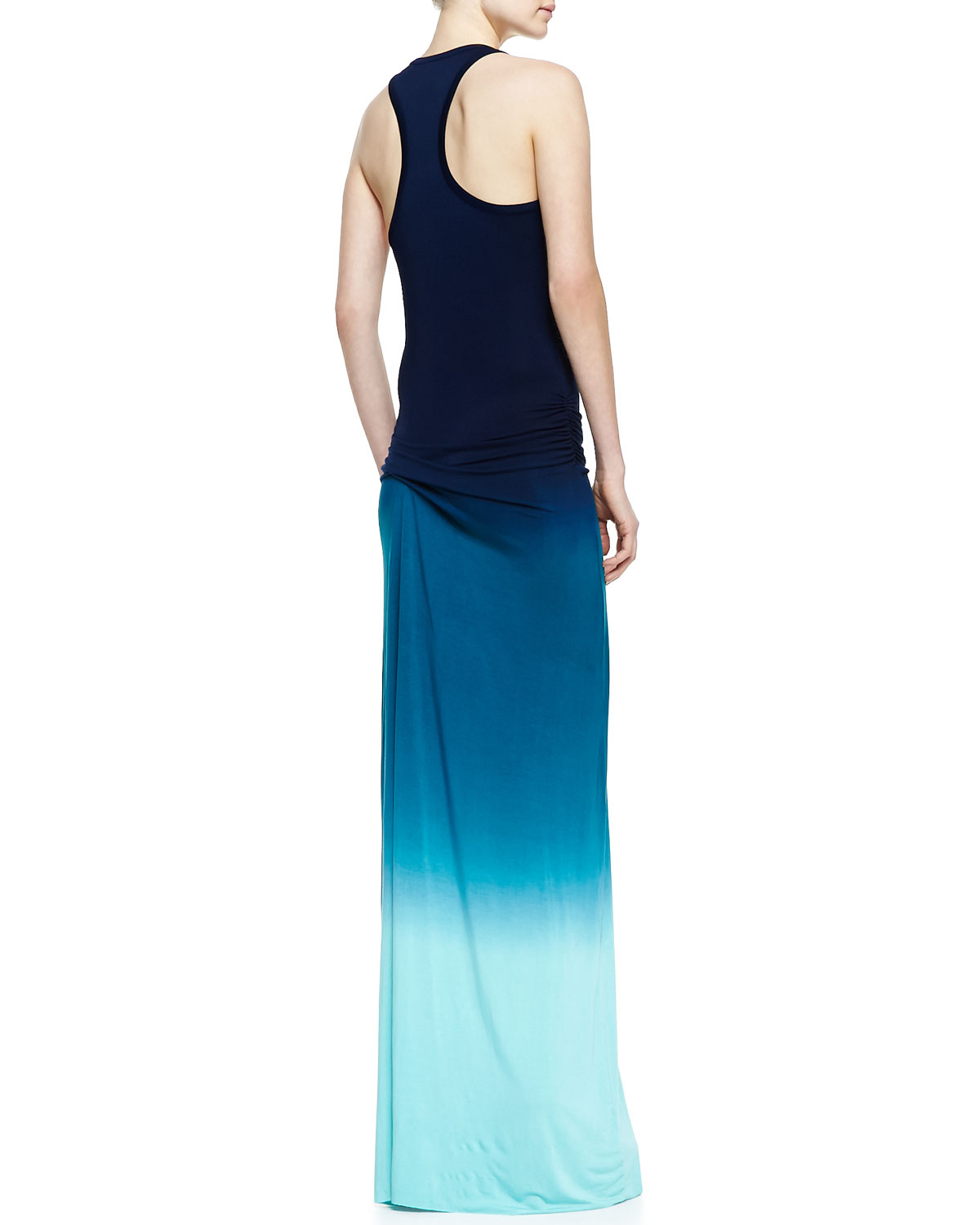 Lyst Young Fabulous Broke Hamptons Racerback Ombre Maxi Dress In