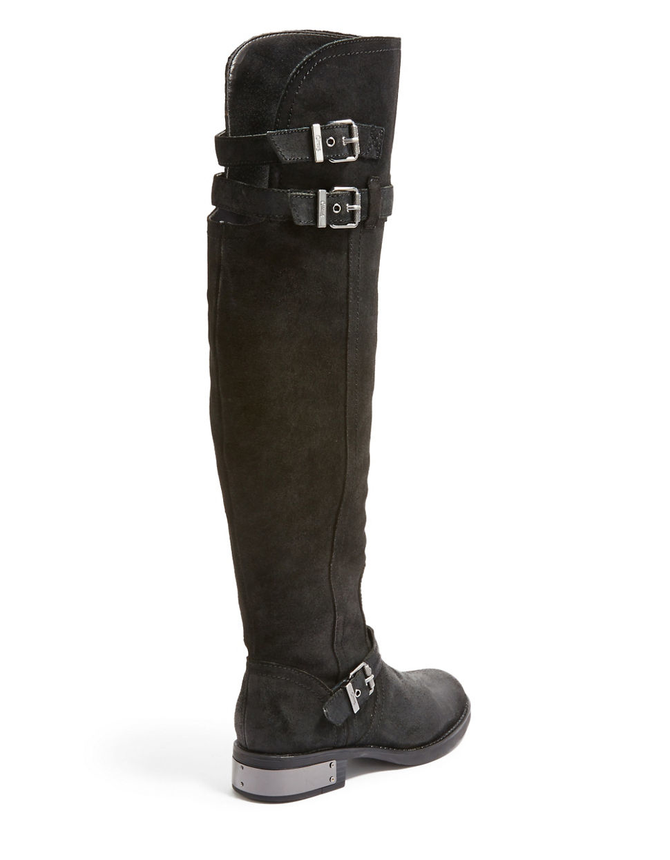 circus by sam edelman reily suede knee high boots in black