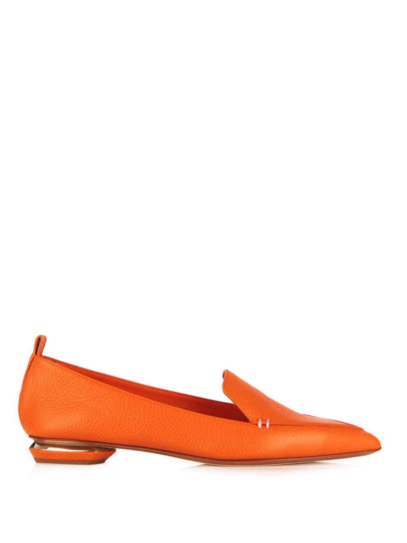 Beya loafers - Yellow & Orange Nicholas Kirkwood qceqHKK