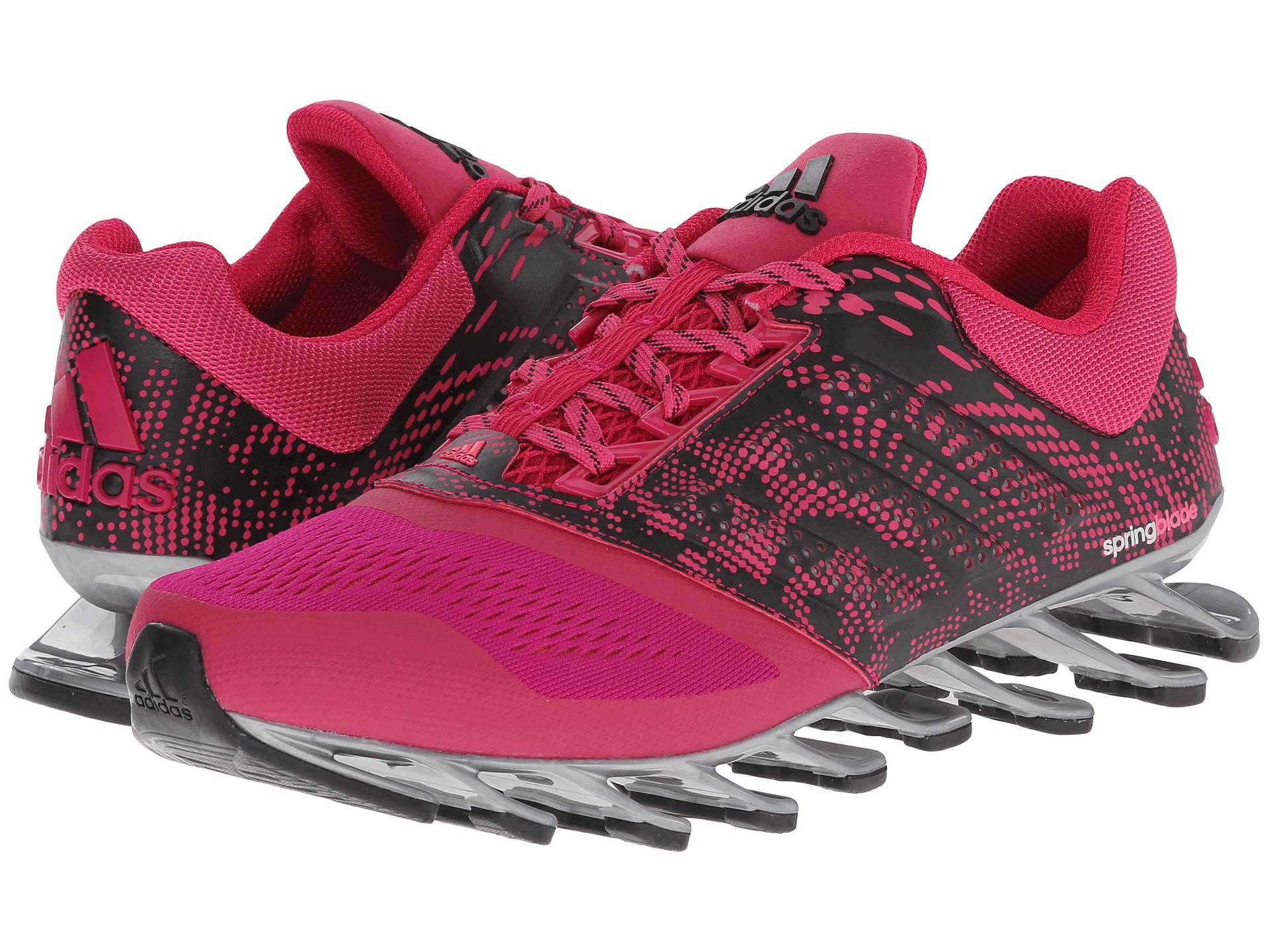 Lyst - adidas Springblade Drive 2 Mesh Low-Top Sneakers in ...
