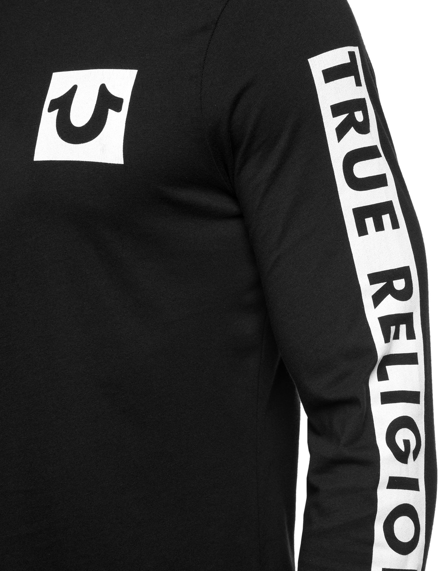 It is a picture of Comprehensive True Religion Return Label