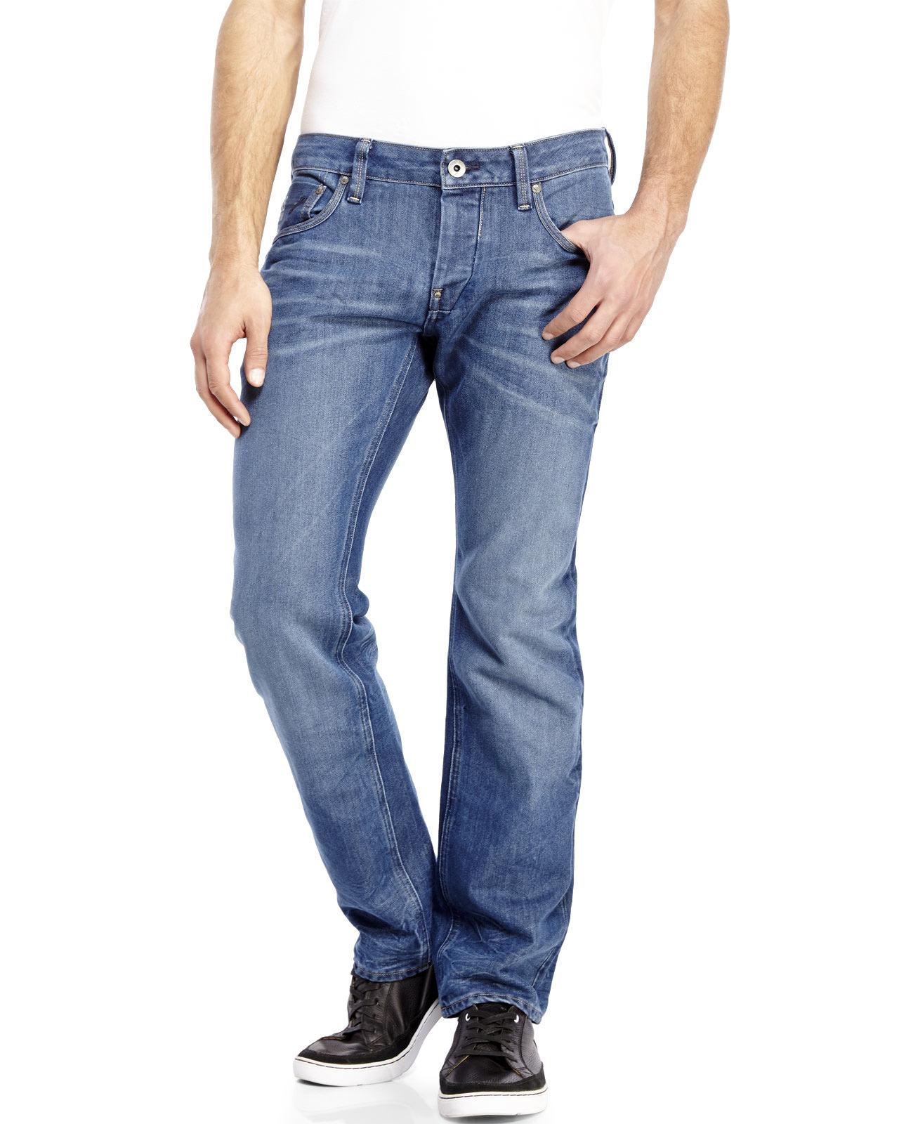 slim faded jeans - Blue G-Star 4f2teU