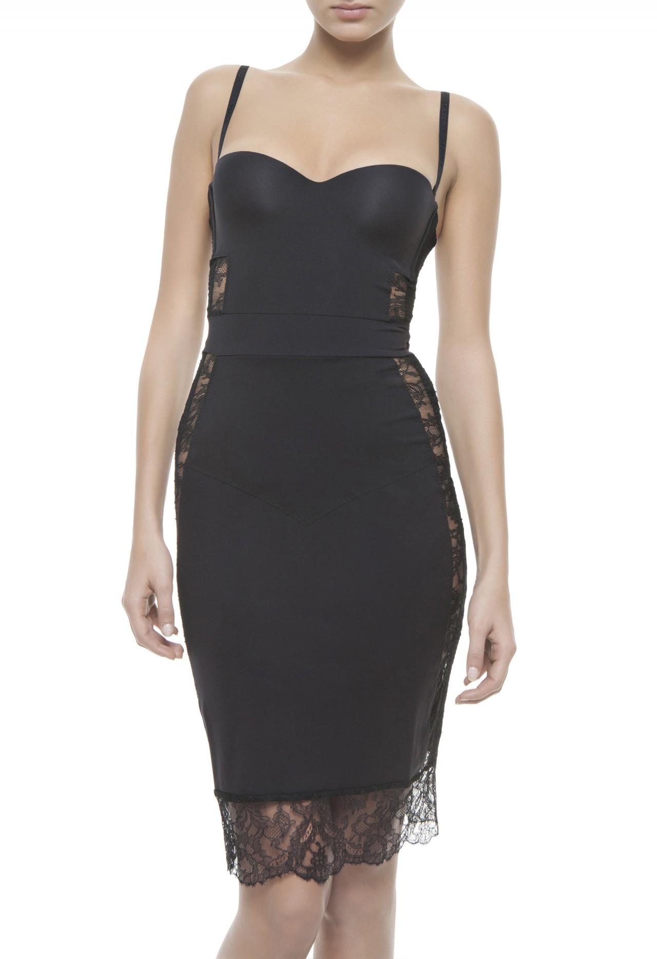 La Perla 2014 Fall Winter Lingerie Campaign Photos: La Perla Dresses In Black