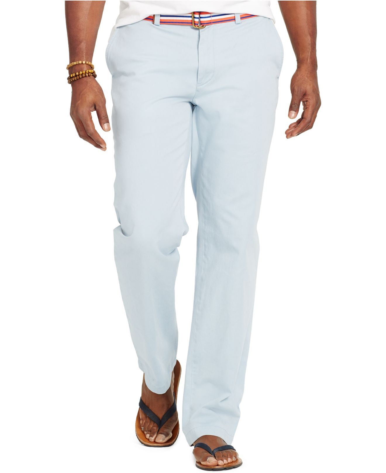 0e2421f52f4 Polo Ralph Lauren - Blue Big   Tall Classic-fit Flat-front Chino Pants