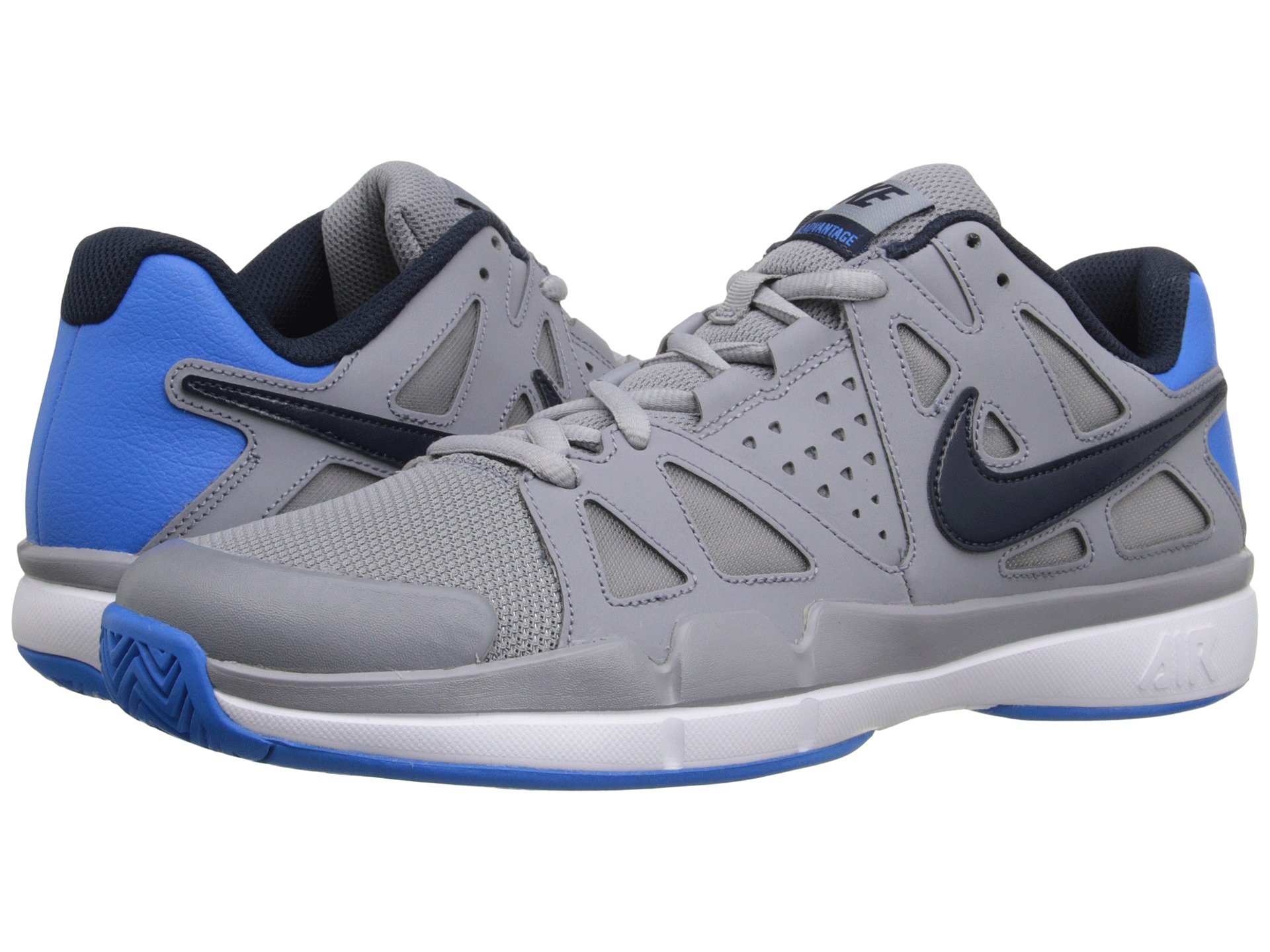 new style 2c9fa ffdfe Nike Air Vapor Advantage in Gray for Men - Lyst