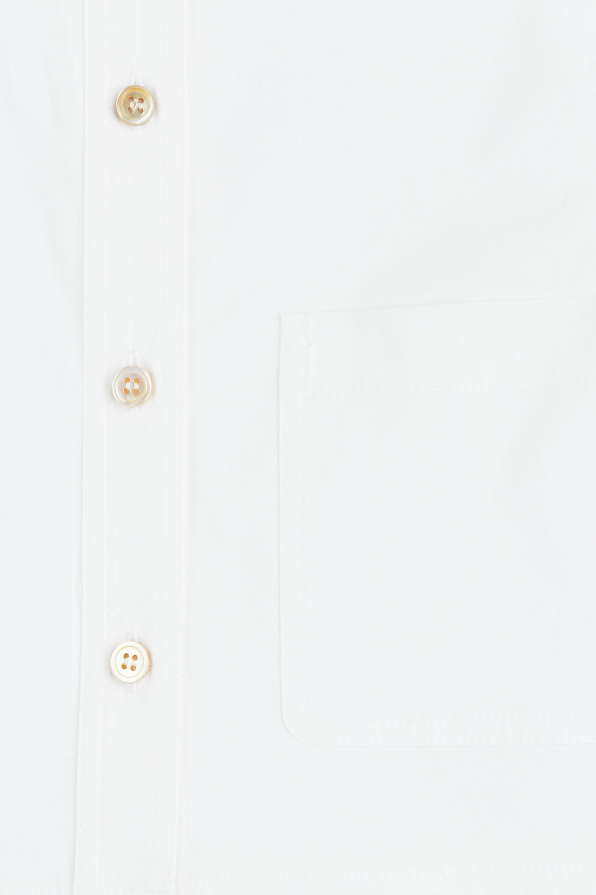 9fd25d22d Lyst - Marc By Marc Jacobs Stretch Poplin Cropped Button-up - White ...