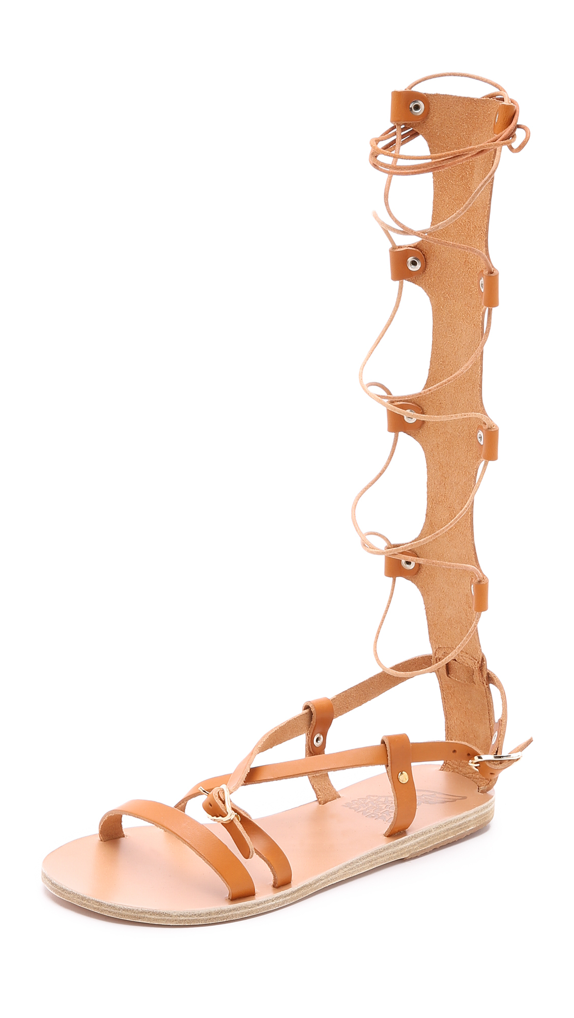 Ancient Greek Sandals Sofia High leather gladiator sandals Exclusive Online From China Discount Looking For LYv7a