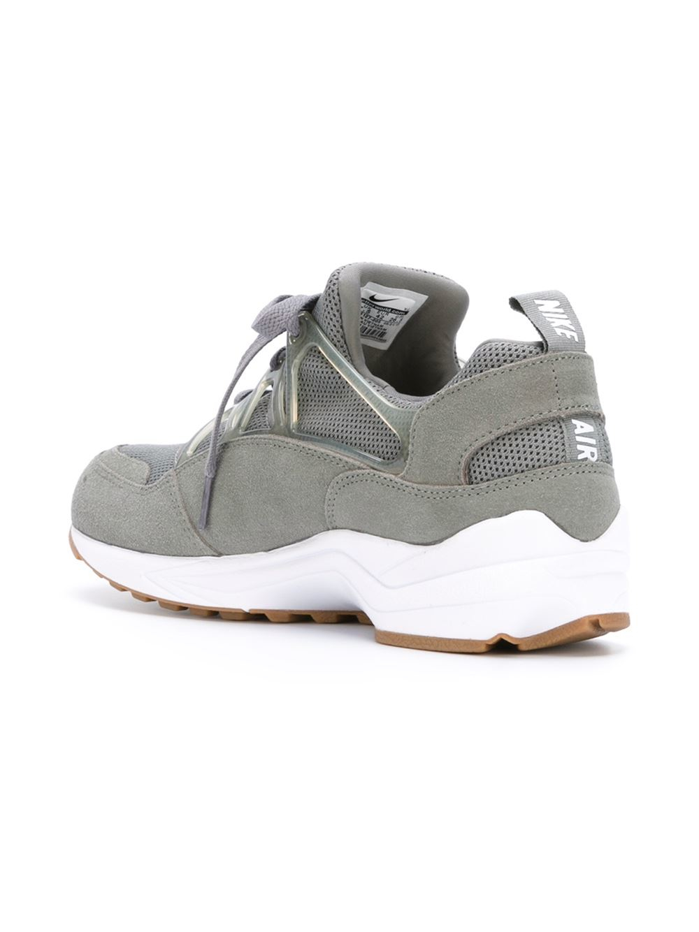 nike 39 air huarache light 39 sneakers in gray for men lyst. Black Bedroom Furniture Sets. Home Design Ideas