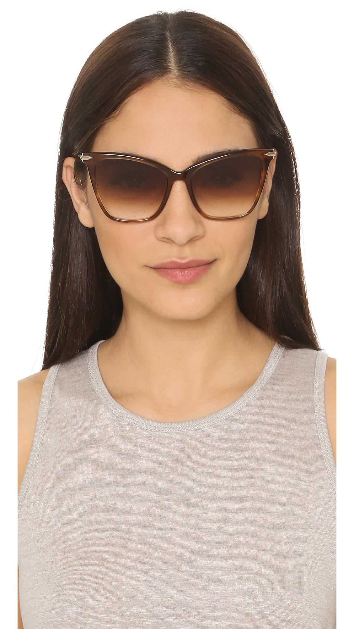 5e411362d77f Lyst - DITA Fearless Sunglasses in Brown