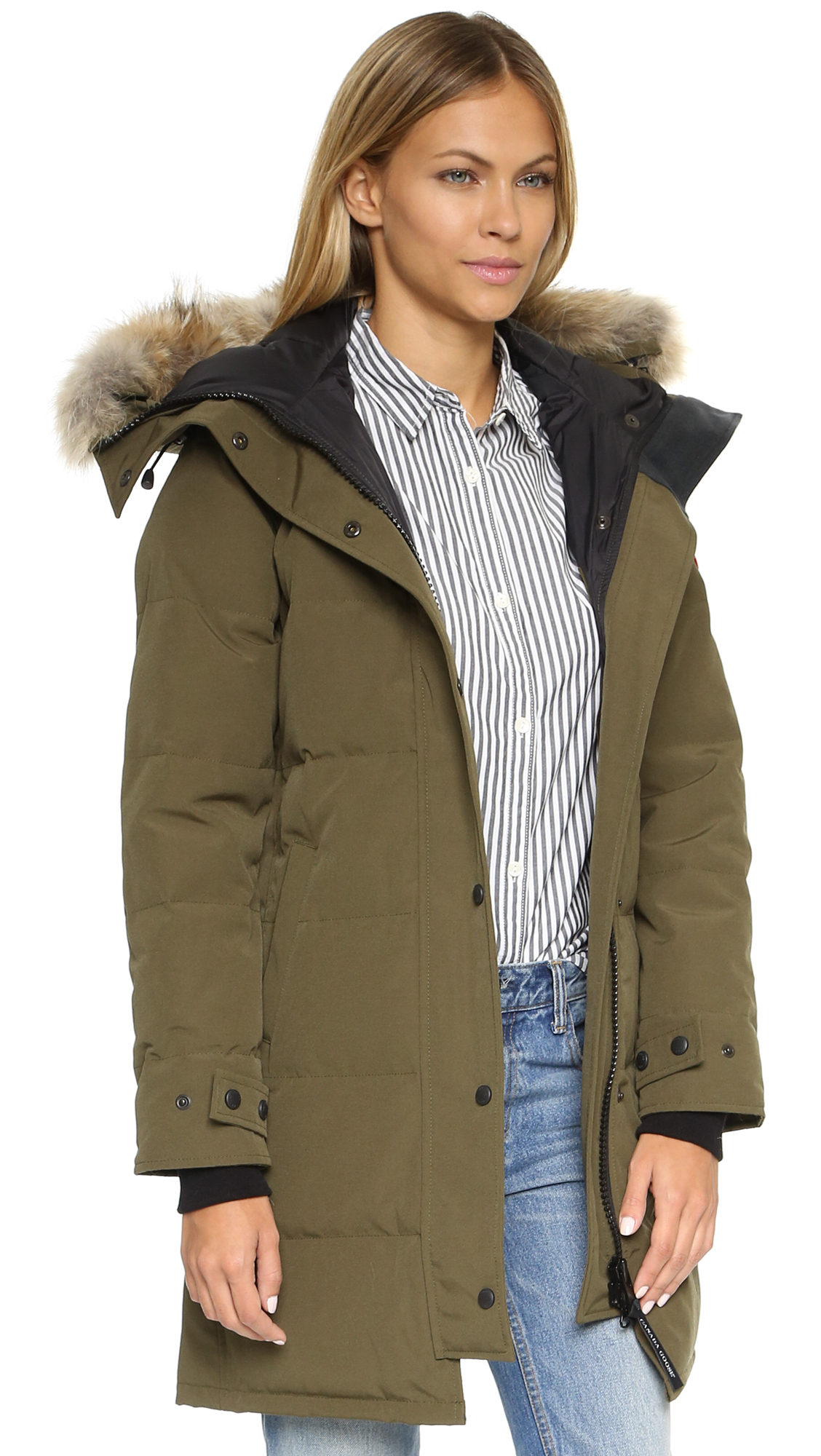 Canada Goose' Women's Shelburne Parka - Military Green