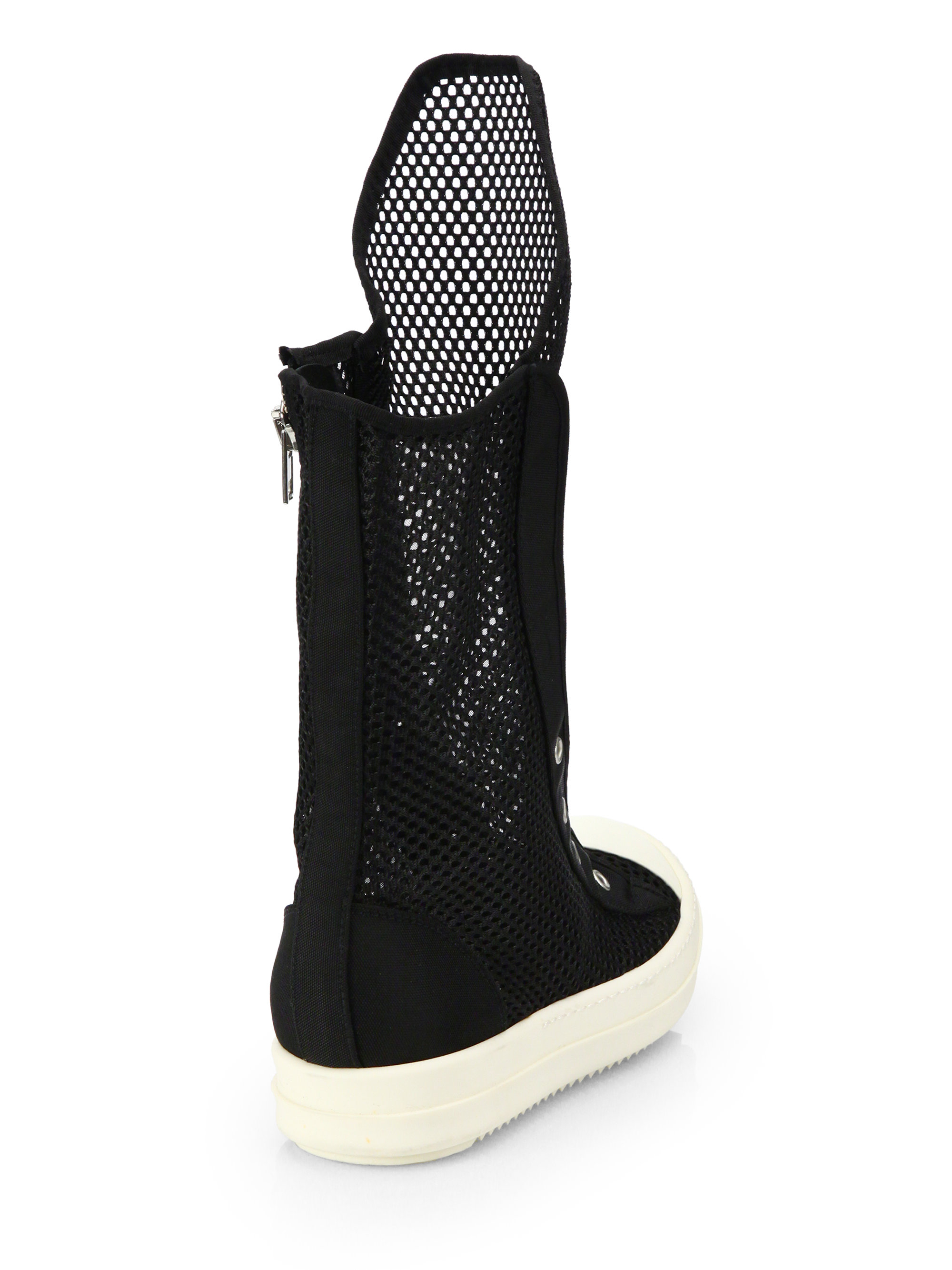 mid-calf sneaker boots - Black Rick Owens Shop Offer For Sale Cheap Sale The Cheapest Cheap Sale Pick A Best CHzPWSTy0