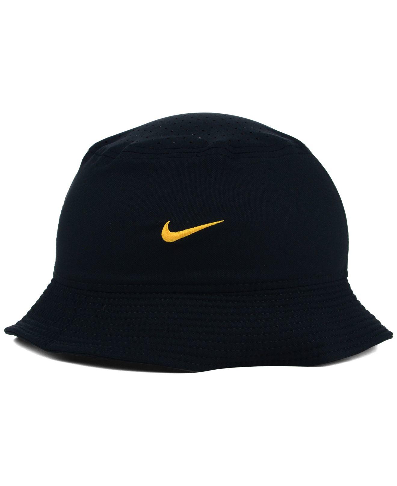16cf94a521a ... denmark lyst nike iowa hawkeyes vapor bucket hat in black for men bf4d1  d1490