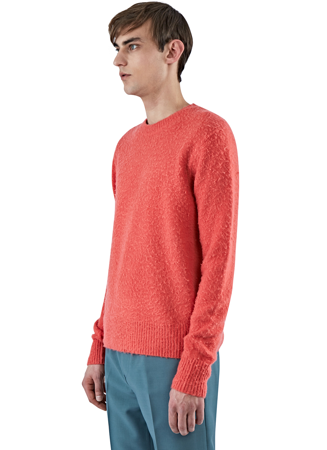 Acne studios Menu0026#39;s Peele Cashmere Knit Sweater In Pink in Pink for Men | Lyst