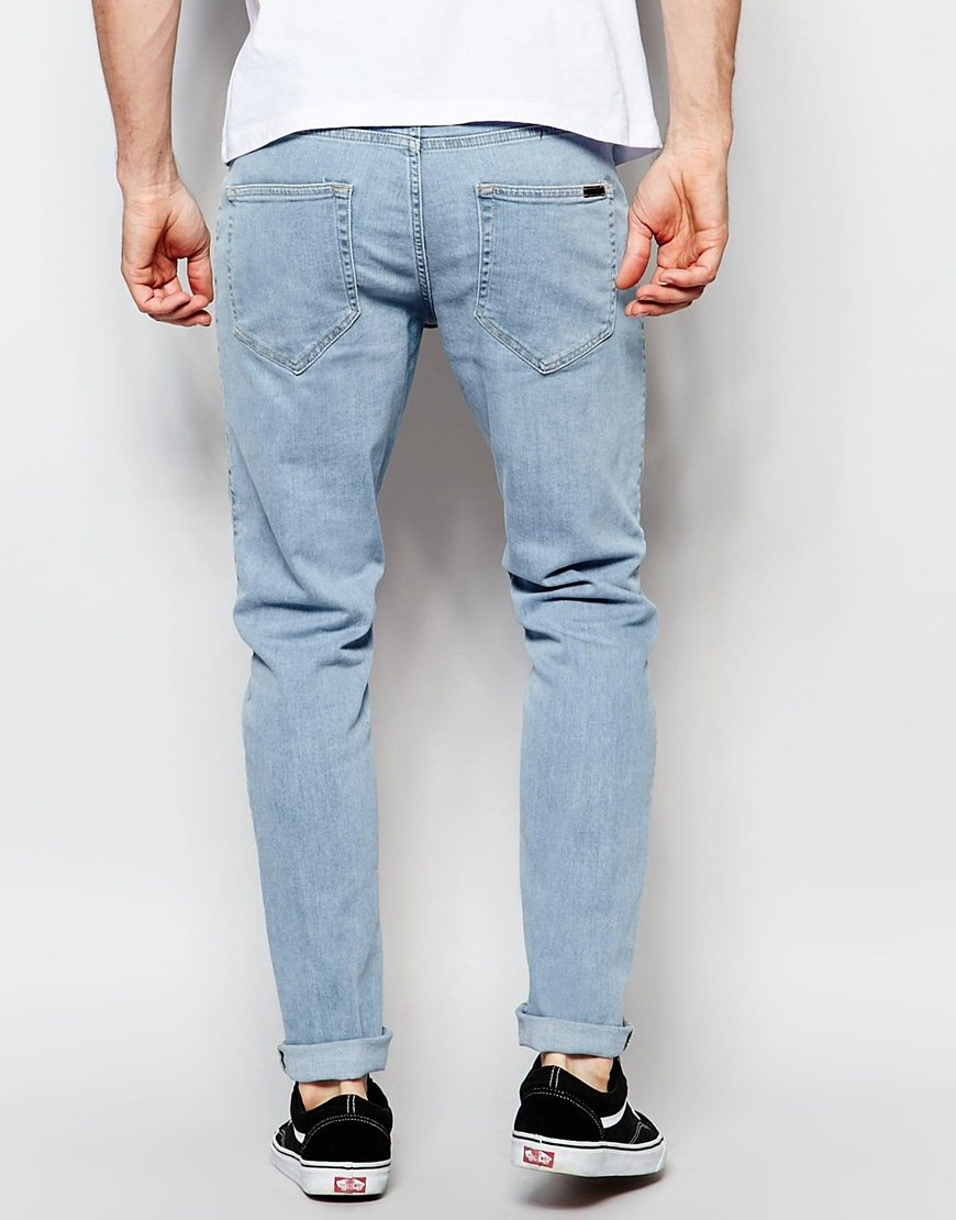 Lyst - Dr. Denim Jeans Clark Slim 80s Stone Wash