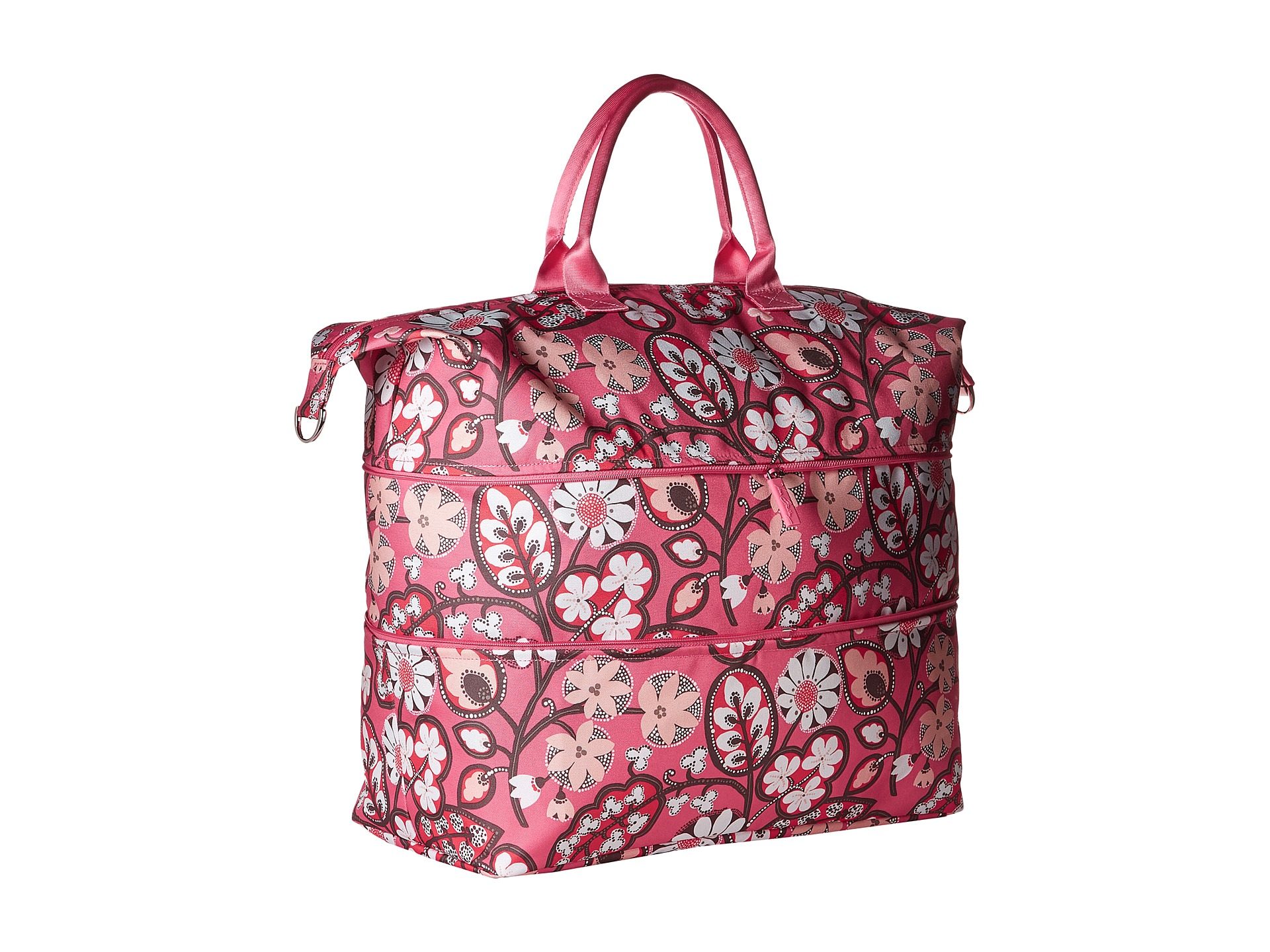 Vera bradley Lighten Up Expandable Travel Bag in Pink (Blush Pink ...