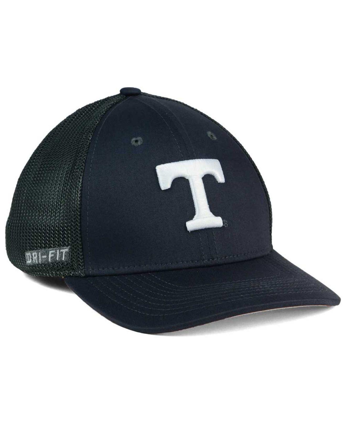 3c59bae40b0 Lyst - Nike Tennessee Volunteers L91 Mesh Swoosh Flex Cap in Black ...