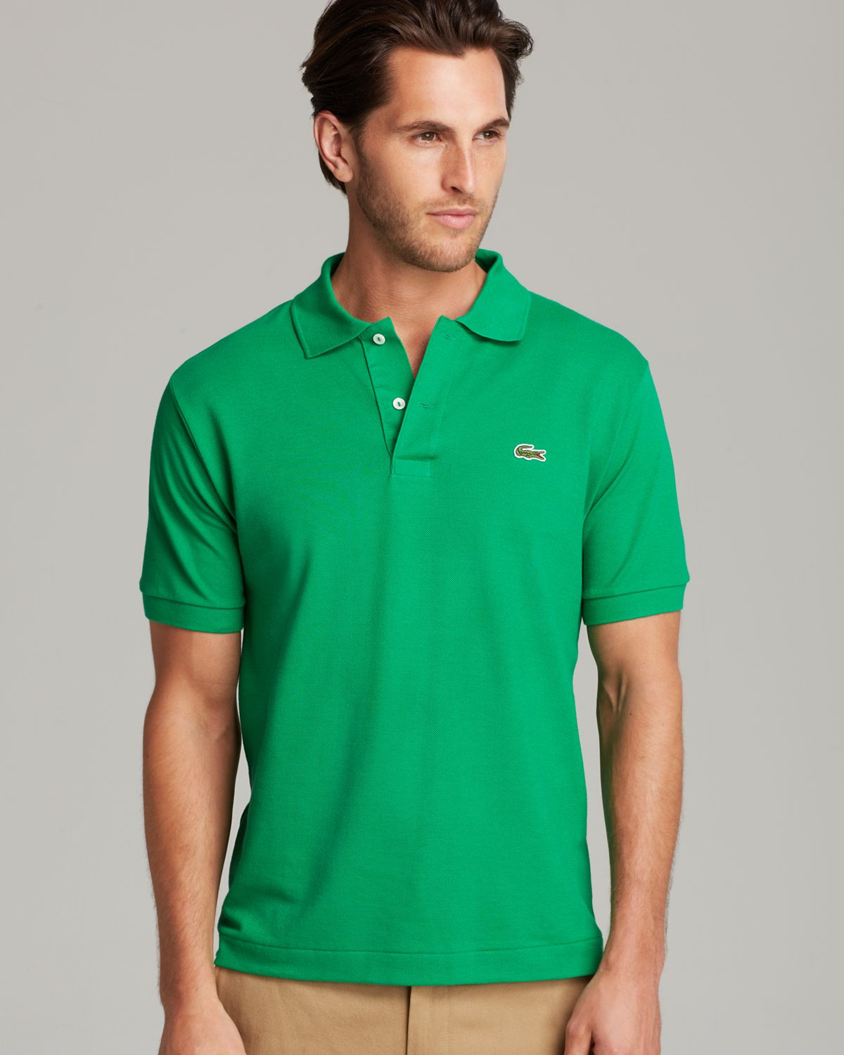 9d792c4f7f Lacoste Pique Polo - Classic Fit in Green for Men - Lyst