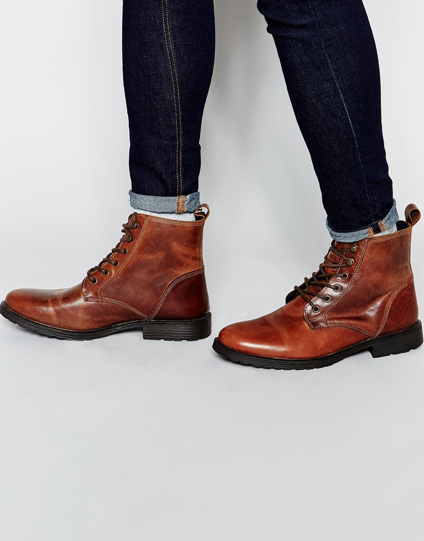sale store visit new online Jack & Jones Nubuck Boots With Warm Lining free shipping shop offer REZmCME97M
