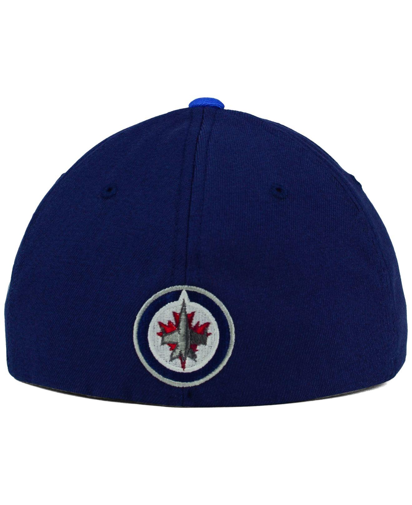 cheap for discount d23a3 e8cf6 ... spain lyst old time hockey winnipeg jets win streak flex cap in gray  for men edbab