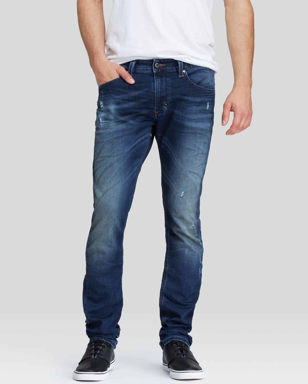 9e1ee87b DIESEL Jeans - Thavar Jogg Super Slim Fit In Dark Wash in Blue for ...