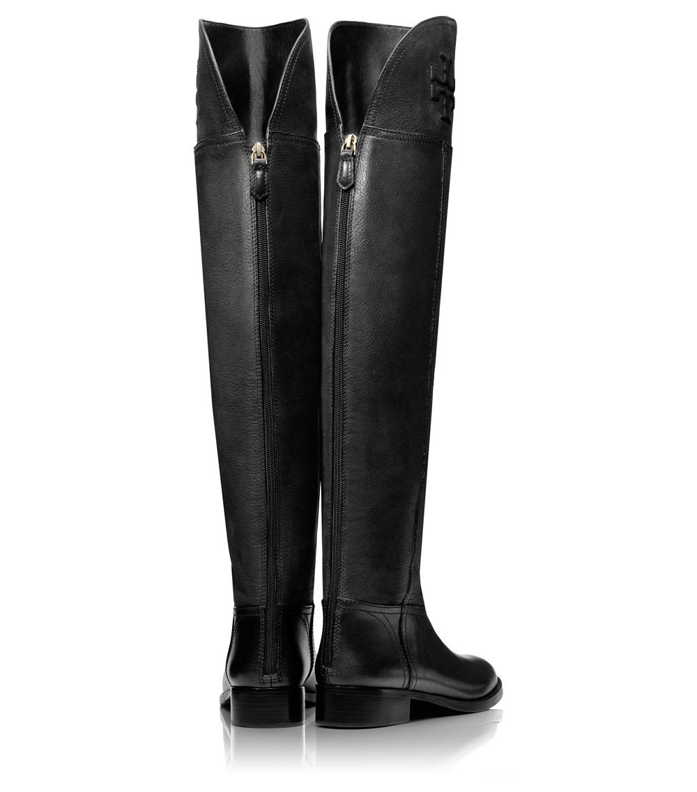 9655ef2c2 Lyst - Tory Burch Simone Over-The-Knee Boot in Black