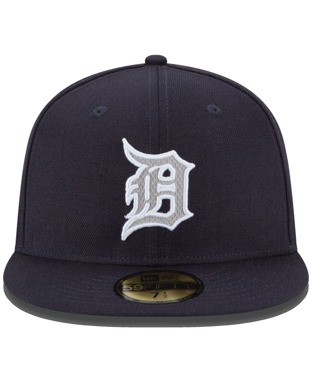 new style c4bde 76ed5 Lyst - KTZ Detroit Tigers Logo Lush 59fifty Cap in Blue for Men