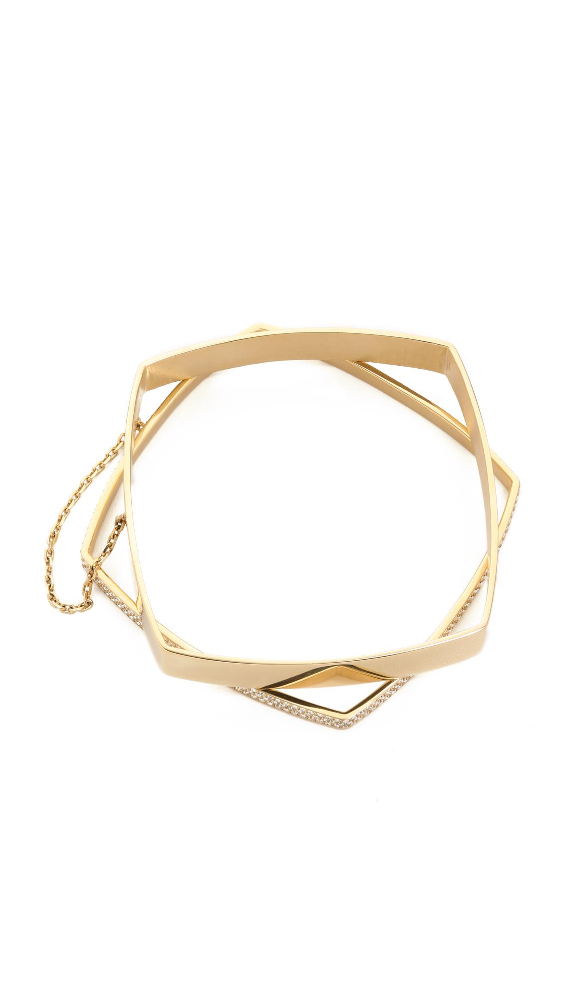 michael kors etched logo stacking bangle bracelet gold. Black Bedroom Furniture Sets. Home Design Ideas