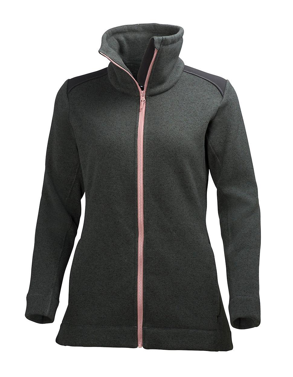 lyst helly hansen synnoeve propile fleece jacket. Black Bedroom Furniture Sets. Home Design Ideas