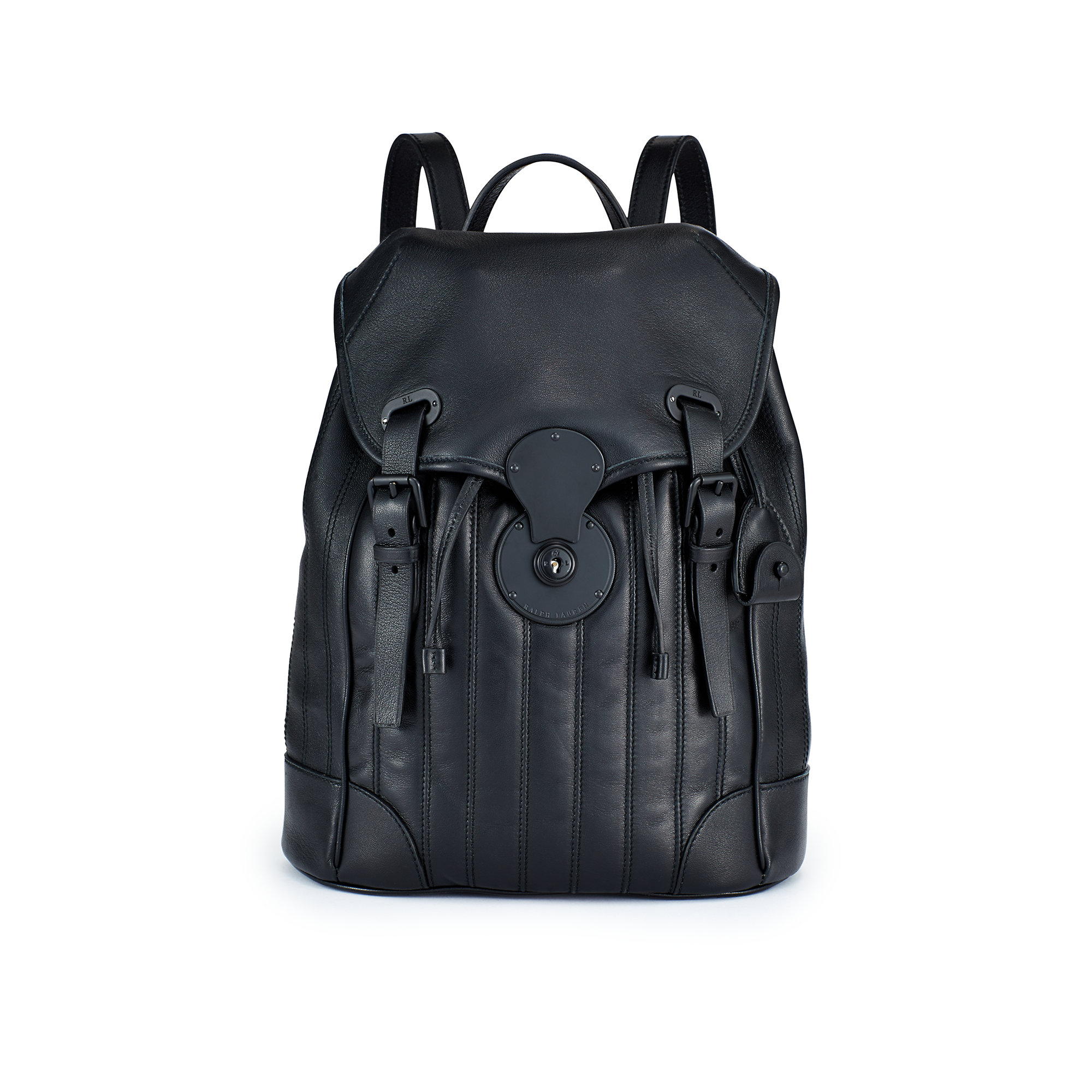 Ralph Lauren Quilted Ricky Backpack In Black Lyst