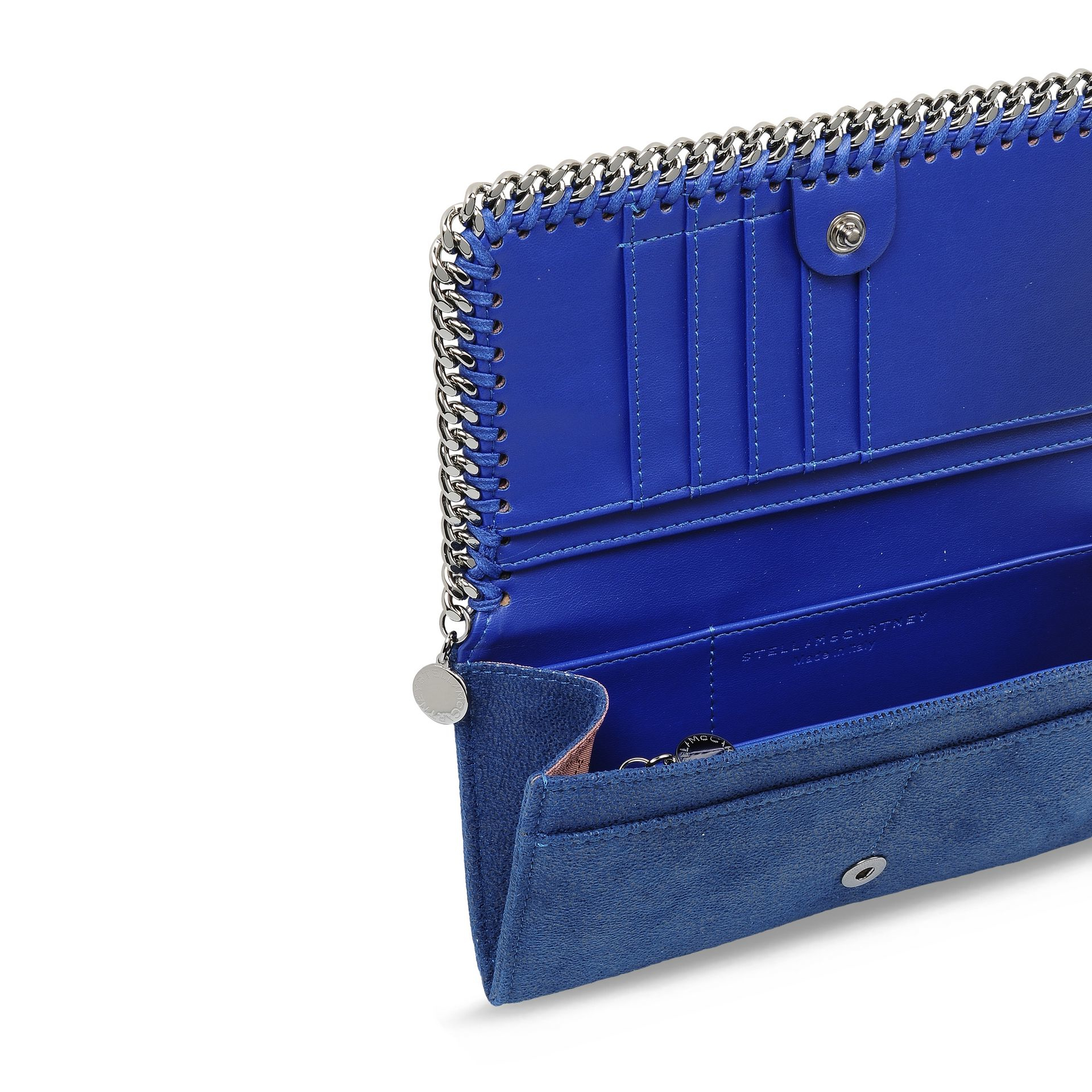 Cheap Pick A Best Falabella zip wallet - Blue Stella McCartney Store For Sale With Paypal Cheap Price Visa Payment Cheap Price Sunshine AC3S0cjC
