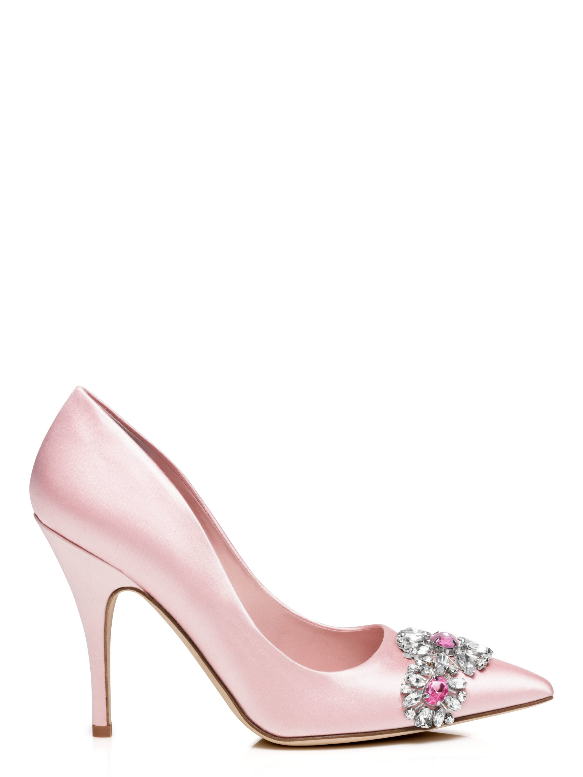 4d8be210e61a Kate Spade Larsa Heels in Pink - Lyst