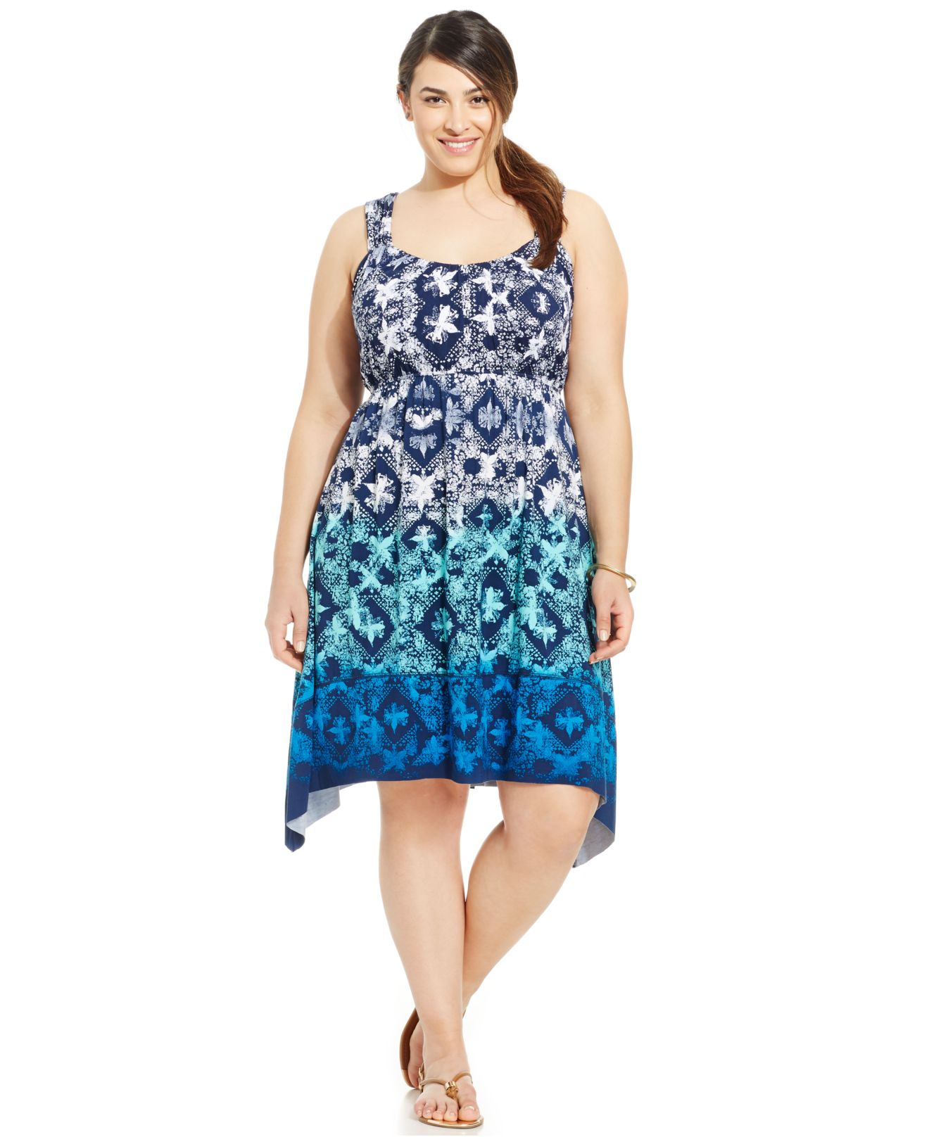 Handkerchief Hem Dresses In Plus Sizes Boulcom Dress Style 2018